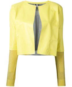 Aviù | Cropped Open Jacket Size Medium
