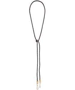 LIZZIE FORTUNATO JEWELS | Woven Lariat Necklace Women