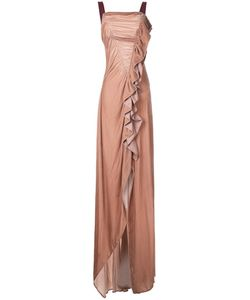 Bianca Spender | Velvet Wonderland Gown 6 Silk/Cellulose