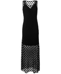 Essentiel Antwerp | Sheer Polka Dot Layer Dress Size 8