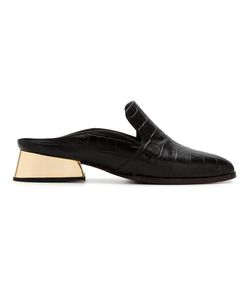 GIULIANA ROMANNO | Leather Textured Mules