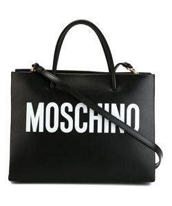Moschino | Квадратная Сумка-Тоут С Принтом-Логотипом