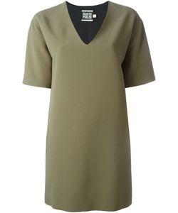 Fausto Puglisi | Платье Свободного Кроя C V-Образным Вырезом