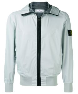 Stone Island | Zipped Hooded Jacket Xl Polyester/Polyethylene
