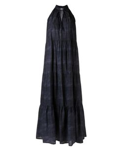 AMIR SLAMA | Panelled Long Dress G Cotton