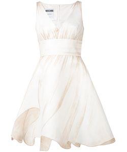 Moschino   Платье С Расклешенной Юбкой
