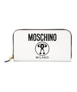 Moschino | Кошелек С Двойным Вопросительным Знаком