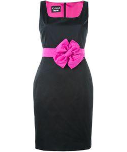 BOUTIQUE MOSCHINO | Приталенное Платье С Бантом