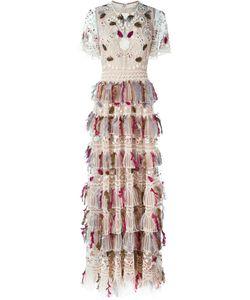 Valentino | Платье С Вышивкой