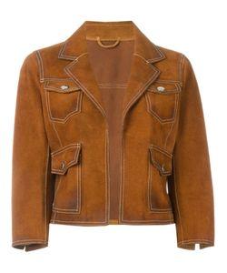 Dsquared2 | Укороченная Замшевая Куртка