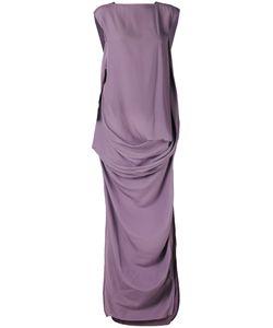 Rick Owens | Draped Maxi Dress