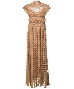 RYAN ROCHE | High Neck Knitted Dress