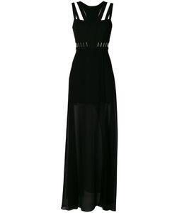 Versace Collection | Полупрозрачное Вечернее Платье С Вырезами