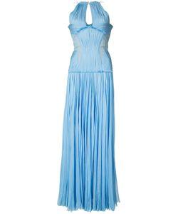 J. Mendel | Плиссированное Платье В Пол