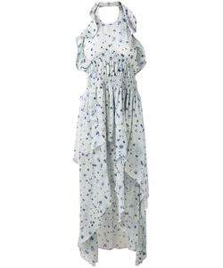 Iro   Платье Халтер С Цветочным Принтом
