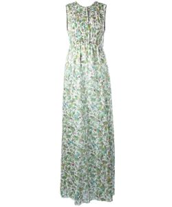GIAMBA   Botanical Print Dress 44