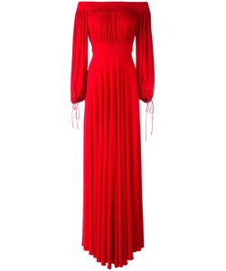 Alexander McQueen | Off The Shoulder Evening Dress