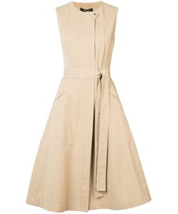 Derek Lam | Concealed Fastening Belted Dress