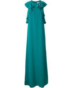 Lanvin | Вечернее Платье С Оборками