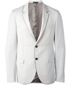 Lanvin | Contrast Trim Blazer 50 Wool/Cupro