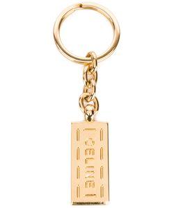 Celine Vintage   Брелок Для Ключей С Логотипом