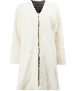 Lanvin | Zipped Fur Coat Size