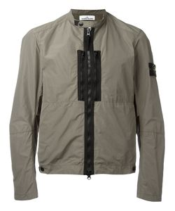 Stone Island | Zipped Rain Jacket Size Large