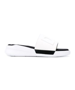 DKNY   Logo Slider Sandals 6