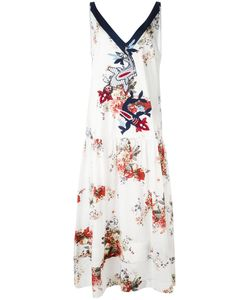 Antonio Marras | Print Embroide Dress 40 Cotton/Polyester