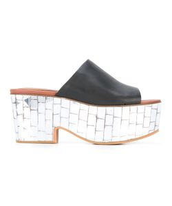 See By Chloe | See By Chloé Mirro Platform Mules 36 Leather/Rubber