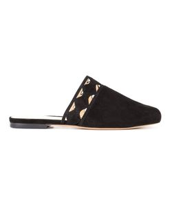 Alexandre Birman | Melissa Slide 9 Leather/Suede