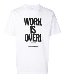 Carhartt   Work Is Over T-Shirt