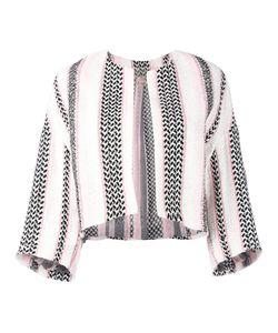 Giambattista Valli | Woven Cropped Blazer