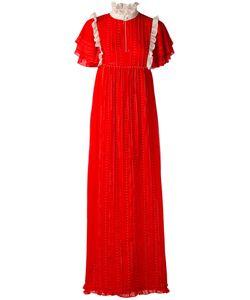 Manoush | Платье Макси С Оборками
