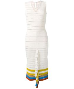 Marco De Vincenzo | Вязаное Платье Со Складчатой Отделкой