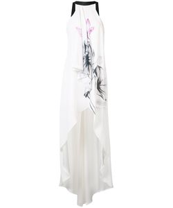 Nha Khanh | Printed High Low Gown