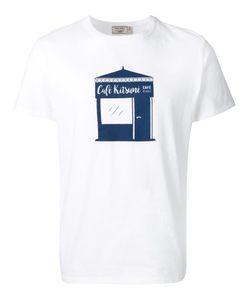 Maison Kitsune | Maison Kitsuné Café Kitsuné Print T-Shirt Medium Cotton