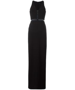 Alexander Wang | Fishing Line Panel Gown Size 4 Triacetate/Polyester/Spandex/Elastane