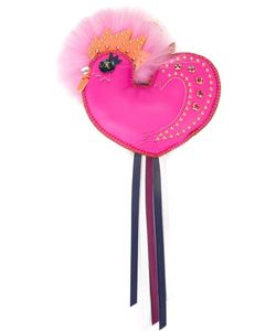 MCM | Embellished Bird Keyring Women