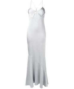 GALVAN | Cut-Out Detail Gown 38 Polyester/Triacetate/Spandex/Elastane