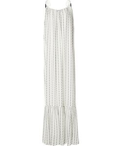Saloni | Blurred Stripe Maxi Dress Size 4