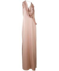 Halston Heritage | Straps Applique Dress Size 2