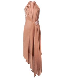 Bianca Spender | Velvet Isabella Dress 6 Silk/Cellulose