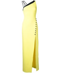 David Koma | Asymmetric Shoulders Long Dress