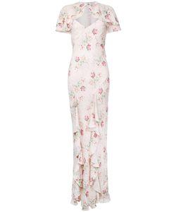 VILSHENKO | Long Print Dress 8 Silk