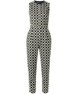 ANDREA MARQUES | Geometric Print Jumpsuit Size