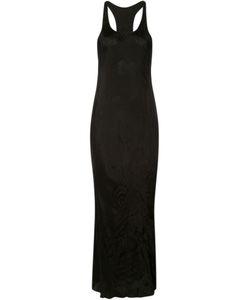 UMA WANG | Long Sleeveless Dress Small Cupro