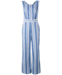 Mih Jeans | Striped Scoop Neck Jumpsuit
