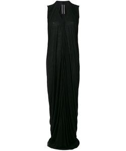 Rick Owens | Длинное Платье С Драпировками
