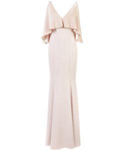 Jay Godfrey | Long Open-Shoulder Dress 2 Polyester/Spandex/Elastane
